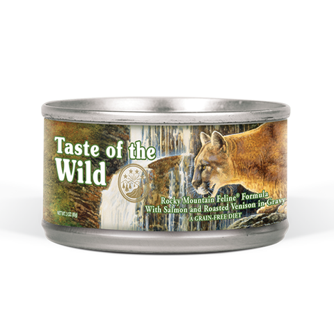 <b>Taste of the Wild</b><br> Rocky Mountain Feline Formula<br>156g - 5.5oz