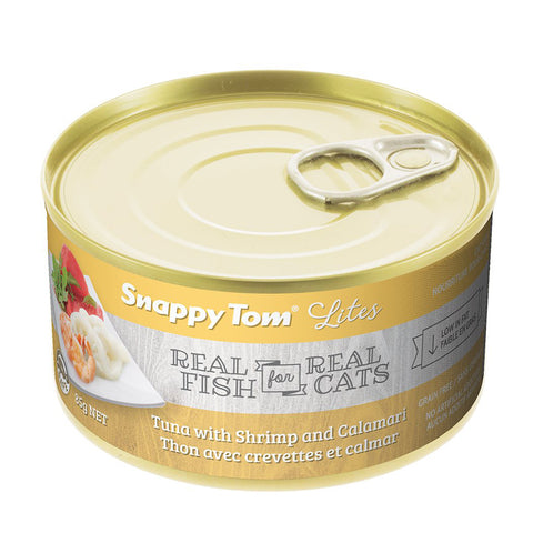 <b>Snappy Tom</b><br>Tuna with Shrimp and Calamari<br>3.5 oz - 5.5oz