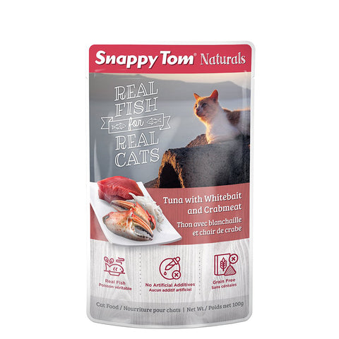 <b>Snappy Tom</b><br>Tuna with Whitebait and Crabmeat<br>3.5 oz - 100g