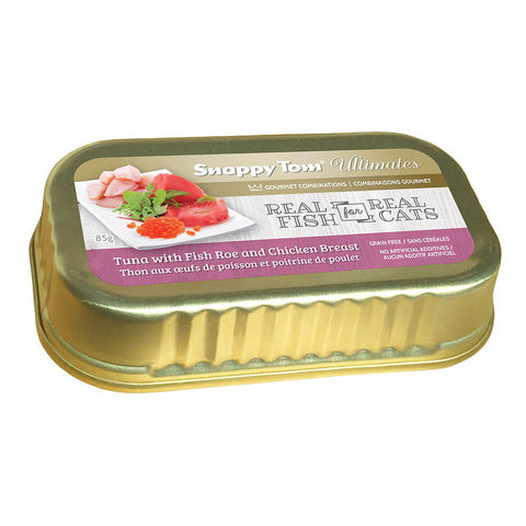 <b>Snappy Tom</b><br>Tuna with Fish Roe and Chicken<br>3oz - 85gr