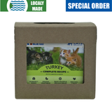 <b>Red Dog Blue Kat</b><br>Turkey Complete For Cats<br><br>0.25lb - 2lb