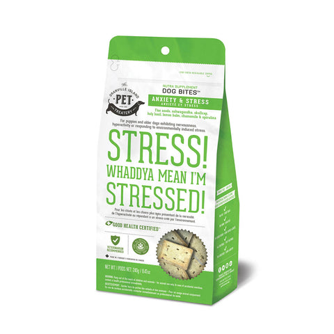 <b>Grandville Island Pet Treat</b><br>Nutra Bites Anxiety & Stress Dog<br>8.5oz - 240g