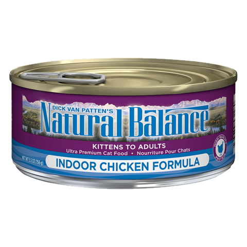 <b>Natural Balance</b><br>Original Ultra Indoor Chicken<br>5.5oz -155gr