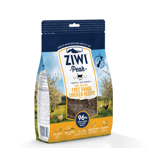 <b>Ziwi Peak</b><br>Free-Range Chicken For Cats<br>14oz - 2.2lb