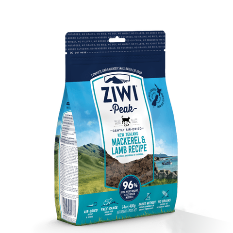 <b>Ziwi Peak</b><br>Mackerel & Lamb For Cats<br><br>14oz - 2.2lb