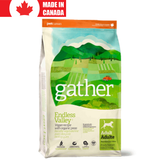 <b>Gather</b><br>Endless Valley Vegan Dog<br><br>2.7kg - 7.2kg