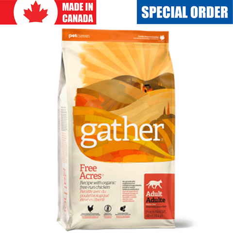 <b>Gather</b><br>Organic Free-run Chicken Cat<br>1.8kg - 3.6kg