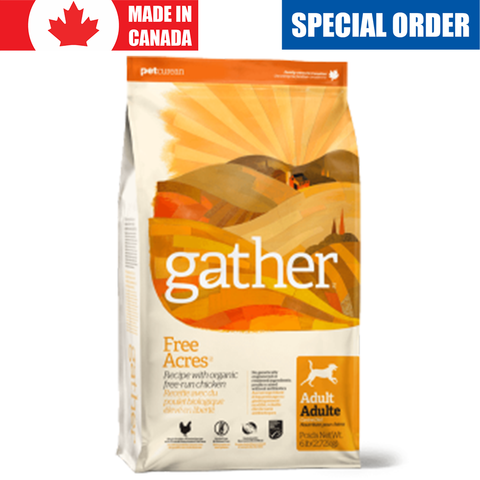 <b>Gather</b><br>Organic Free-run Chicken Dog<br>2.7kg - 7.2kg