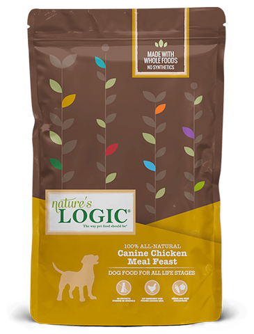 <b>Nature's Logic</b><br>Canine Chicken Meal Feast<br><br>4.4lb - 26.4lb