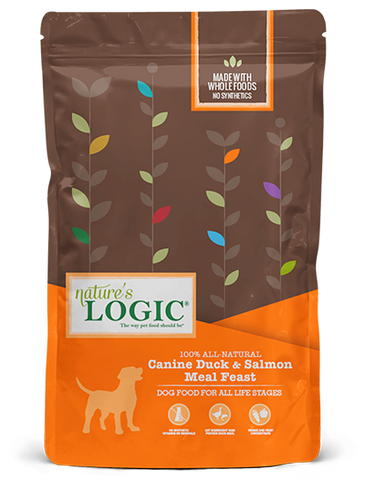 <b>Nature's Logic</b><br>Canine Duck & Salmon Meal Feast<br>4.4lb - 26.4lb
