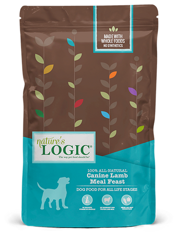 <b>Nature's Logic</b><br>Canine Lamb Meal Feast<br><br>4.4lb - 26.4lb