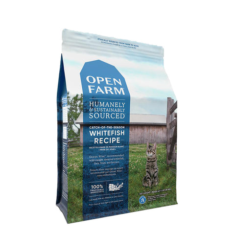 <b>Open Farm</b><br>Catch-of-the-Season Cat<br><br>4lb - 8lb