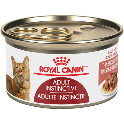<b>Royal Canin</b><br>FHN Adult Instinctive Thin Slices In Gravy<br><br>24/85g