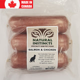 <b>Natural Instincts</b><br>Salmon & Chicken<br>250g