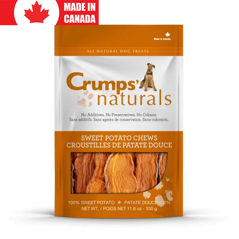 <b>Crumps</b><br>Sweet Potato<br><br>5.6oz - 26oz