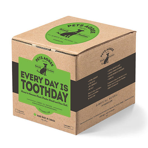 <b>Grandville Island Pet Treat</b><br>Pets Every Day Is Toothday<br><br>2lb - 907g