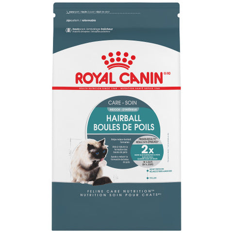 <b>Royal Canin</b><br>FCN Indoor Hairball Care <br><br>3lb - 14lb