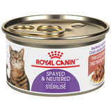 <b>Royal Canin</b><br>FHN Spayed-Neutered-Thin Slices In Gravy <br><br>24/85g