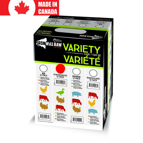 Variety Pack Chickenless