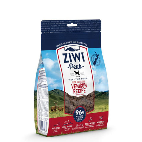 <b>Ziwi Peak</b><br>Venison Recipe Dogs<br><br>16oz - 8.8lb
