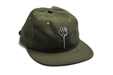 Embroidered Logo 6-Panel in Olive