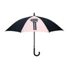 Fist umbrella peach/black