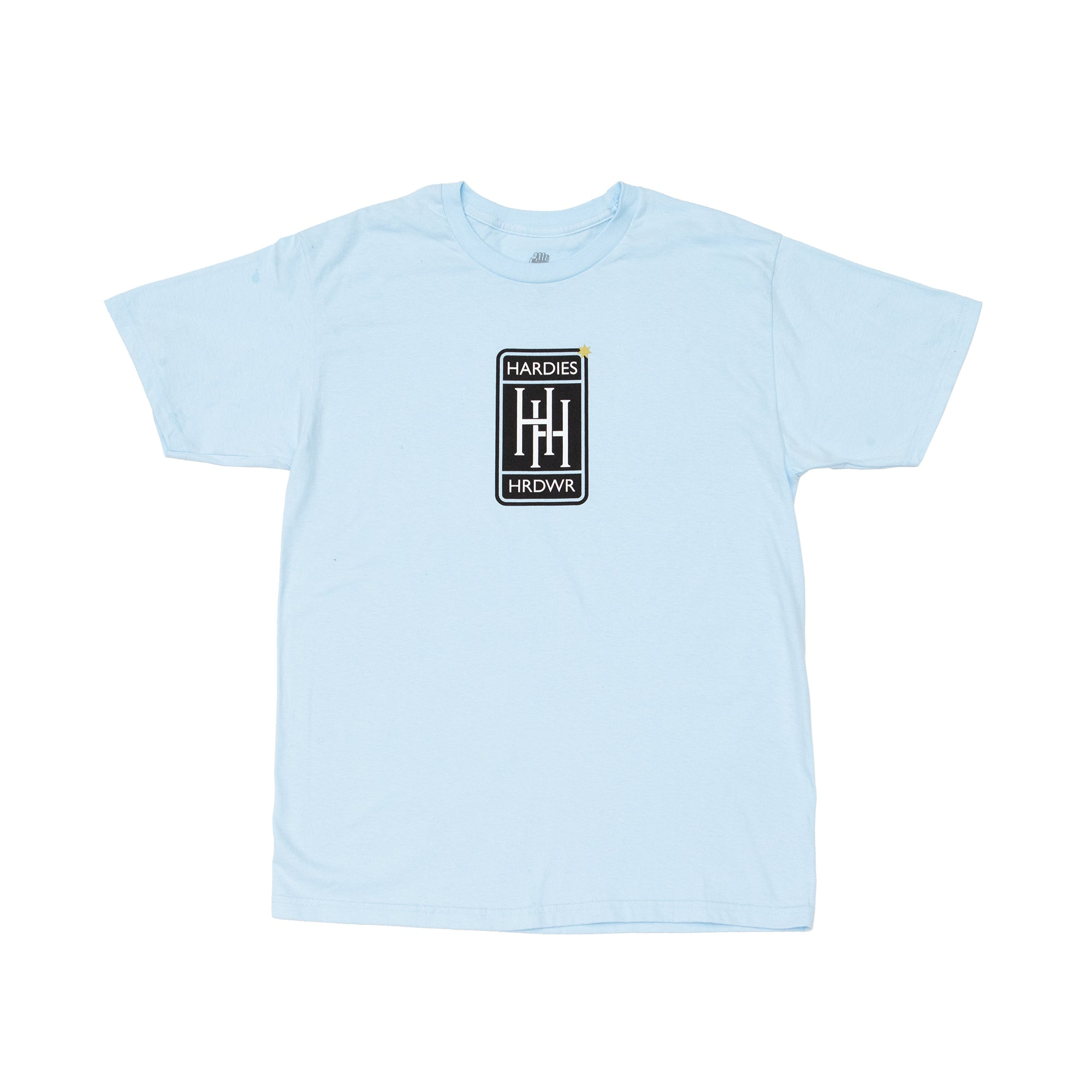 Automobile tee baby blue