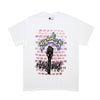 Air brush tee white