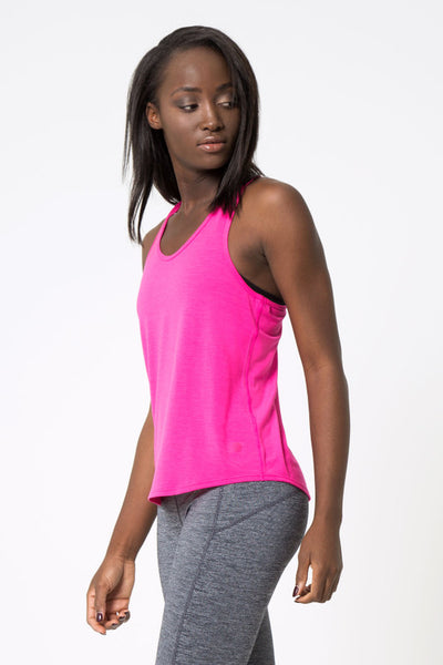 MPG Shock 2.0 Warrior Knit Signature Tank (Pink Glo)