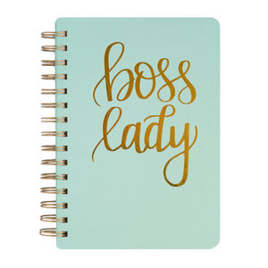 Sweet Water Decor Boss Lady Spiral Notebook