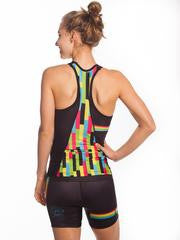Coeur Mixed Tape Triathlon Tank Top