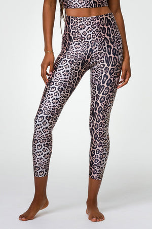 Onzie Pocket Legging (Leopard)