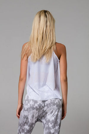 Onzie Molly Tank (White Peep)