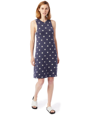 Alternative Apparel A-Line Tank Dress (Stars)