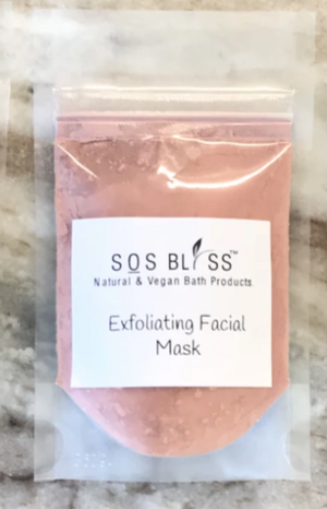 SOS BLISS Exfoliating Clay Mask (Pink)
