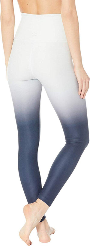 Beyond Yoga Ombre Midi Legging (Glacier White/Nocturnal Navy)