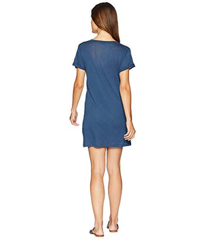 Beyond Yoga Northstar Shirt Dress (Outlaw Navy)