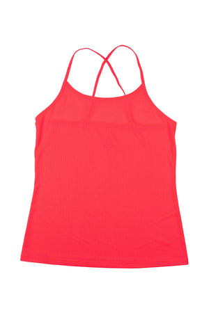 Rabbit Criss Cross Tank (Diva Pink)