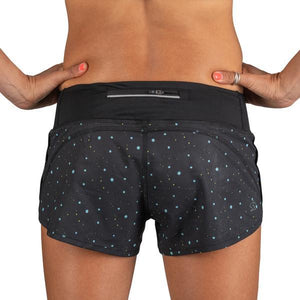Rabbit Catch Me If You Can Splatter Shorts (Black)