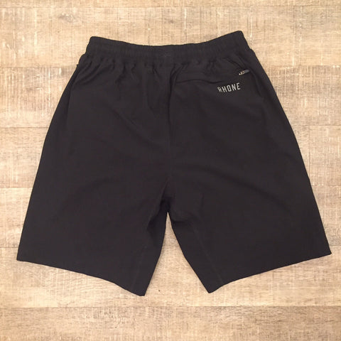 Rhone Men's Mako Run Shorts (Black)