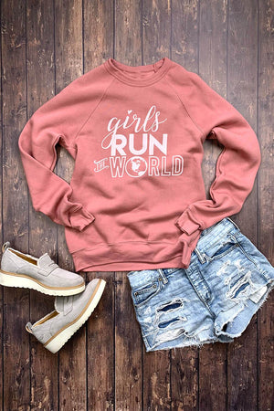 Sarah Marie Girls Run the World Sweatshirt