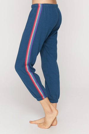 Spiritual Gangster Striped Perfect Sweatpant