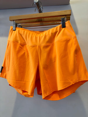 Oiselle Long Roga Shorts (Pop)