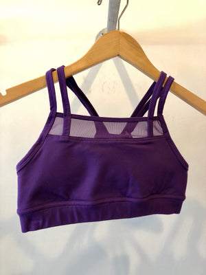 Oiselle Ballard Bra (Epic Purple)