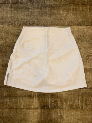 WITH High Waist Skort (White Freckles)