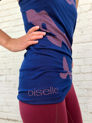 Oiselle Flyte Tank (Grounded/Snap)