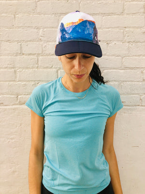 Oiselle Runner Trucker Hat (Yosemite)