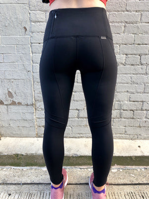 Oiselle Aero Tights (Black)