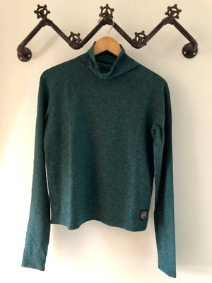 Oiselle Lux Mile One Pullover (Douglas Fir/Evergreen)