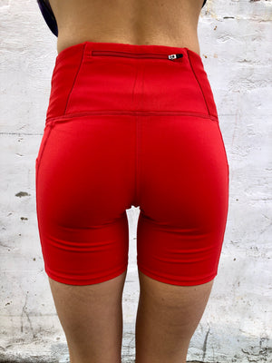 Oiselle Pocket Jogger Shorts (Rising Sun)